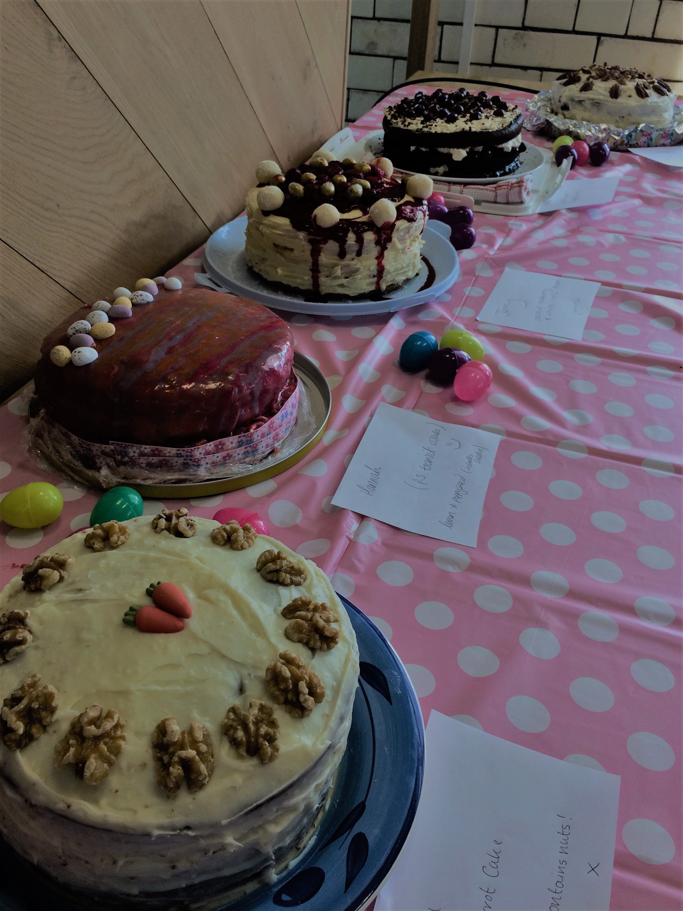 Stand Up To Cancer Bake Sale