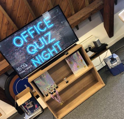 The big Office Quiz Night returns!